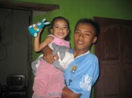 Septi's brother and Dwi's youngest sister