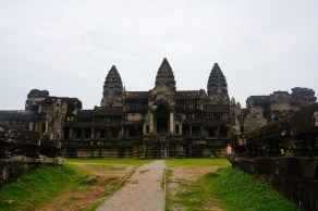 Angkor Wat from the backside.