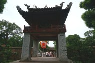 The symbol of Hanoi, a structure within the Temple of Literature, one of the world's earliest universities