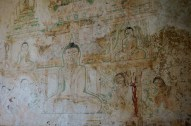 Some original wall paintings.