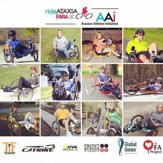 Ataxian Athlete Initiative equipment grant