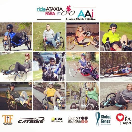 Ataxian Athlete Initiative equipment grant