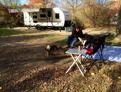Camping at Ottawa Lake in Wisconsin's Kettle Moraine State Forest