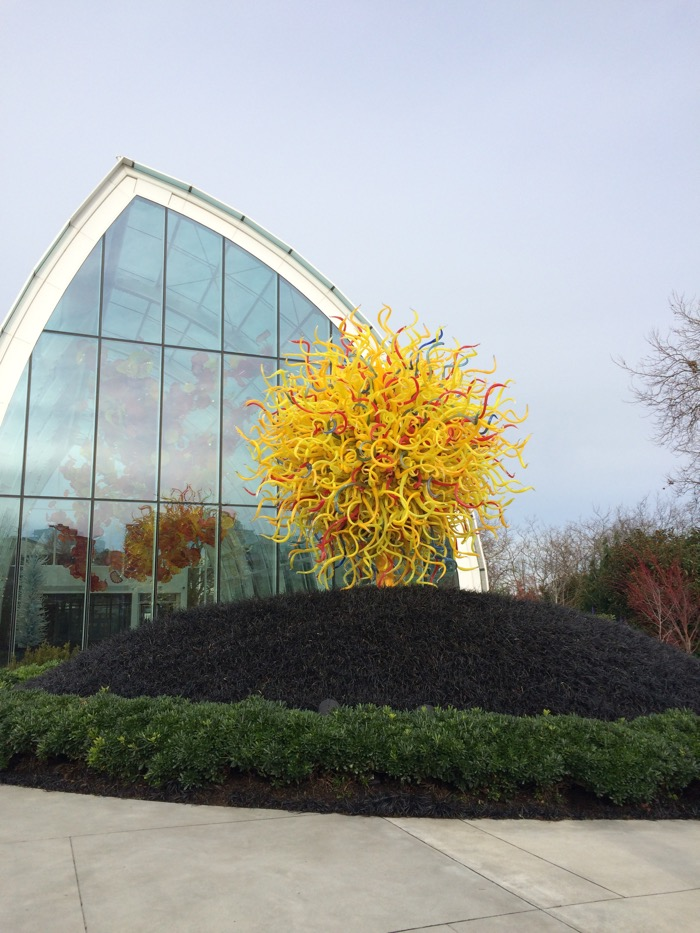 Chihuly Garden and Glass garden