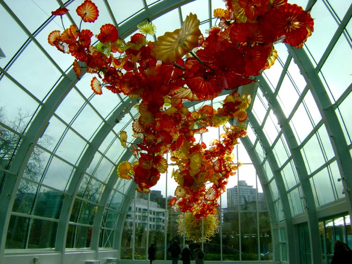 Chihuly Garden and Glass Glasshouse