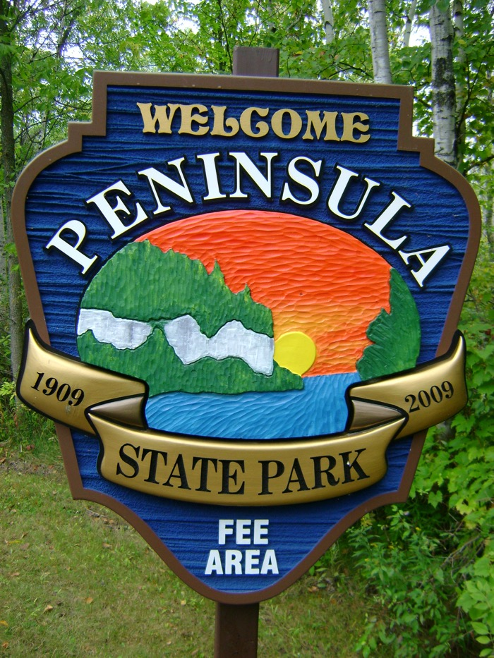 Welcome to Peninsula State Park