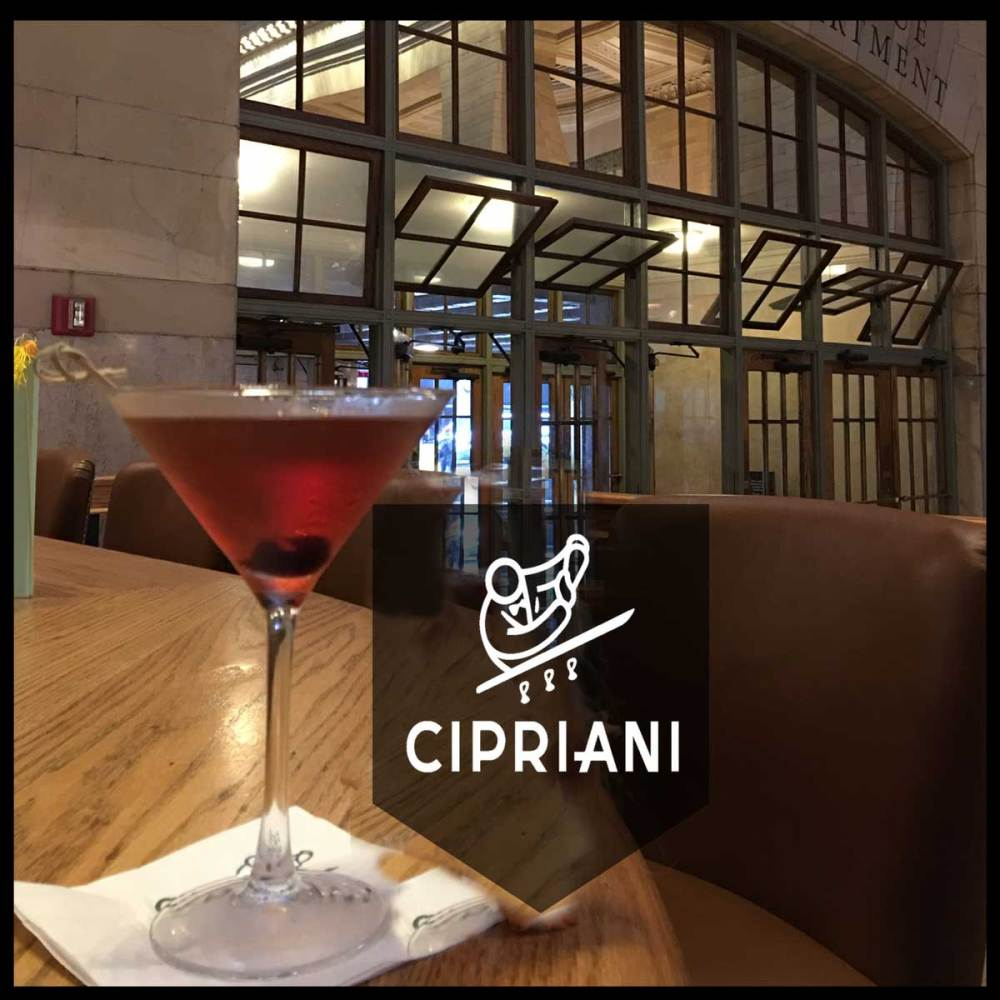 Cipriani's Perfect Manhattan