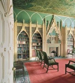 Library at Strawberry Hill