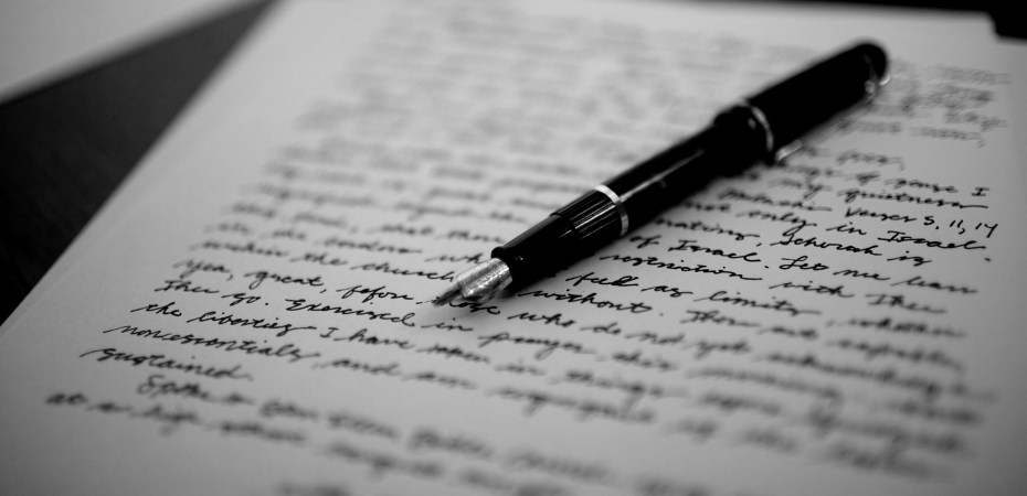 DISCOURAGED ABOUT YOUR WRITING? WRITE YOURSELF A LETTER by Noelle Sterne two drops of ink