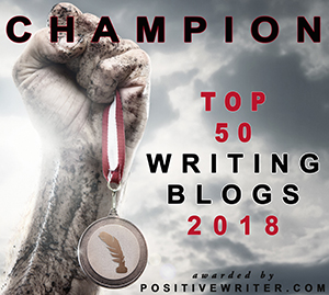 Top 50 Writing Blogs of 2018 two drops of ink