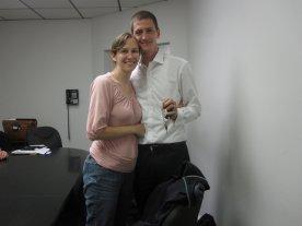 Sarah and Matt at Closing