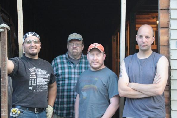 The door crew