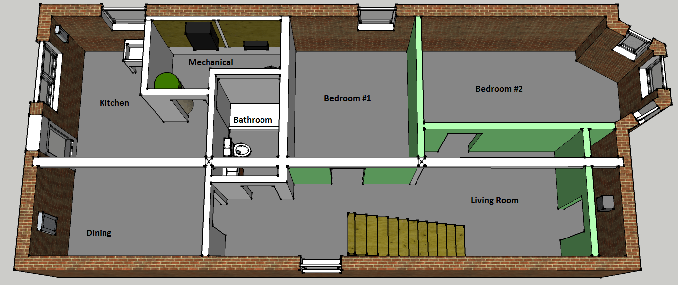 Basement Plan Two Flat Remade