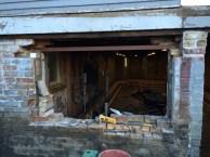 Installing the lintel