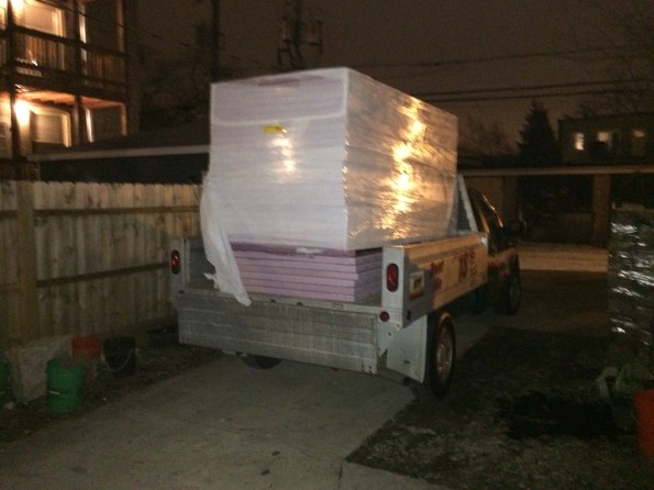 Insulation delivery