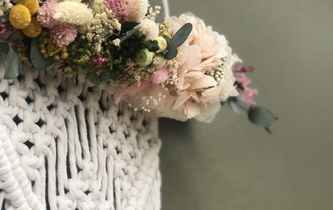 Macrame y Flores
