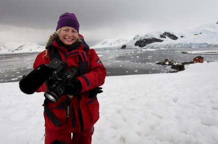 Made it to Antarctica! Woot! Woot!