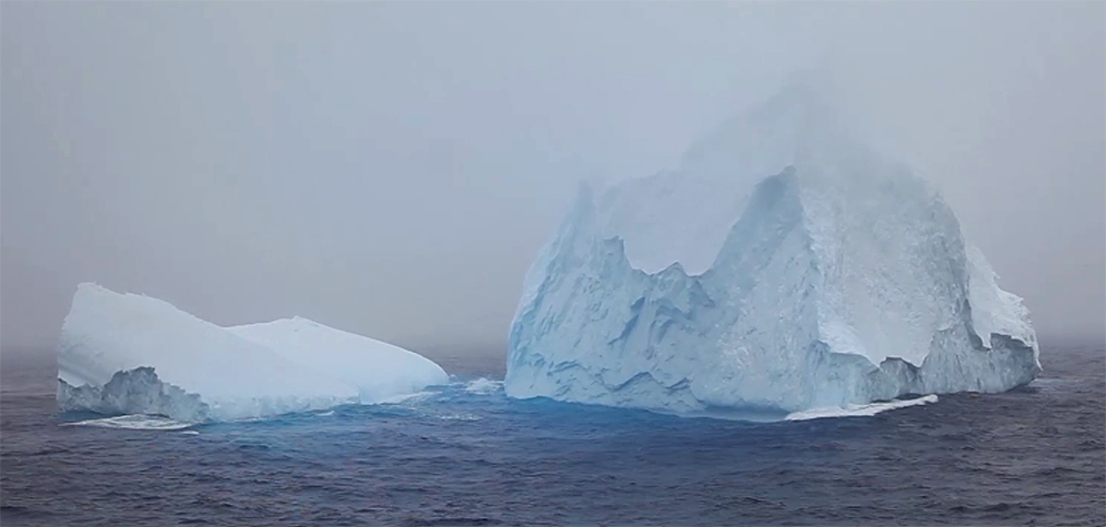 Iceberg on the Drake Passage