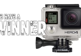Our Awesome GoPro Giveaway UPDATE: We Have a Winner!