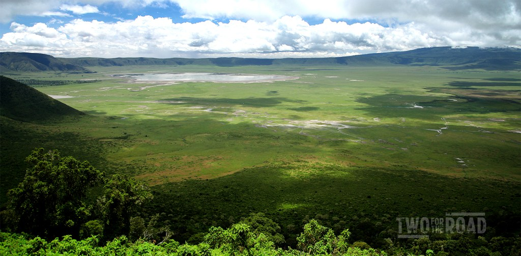 The spectacular Ngorongoro Crater.