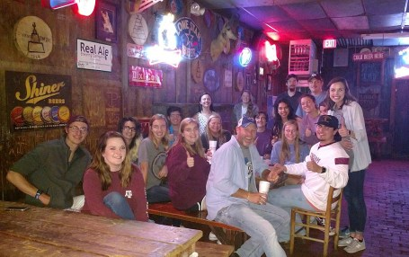 Hangin' with the crew from the RPTS Department at the Chicken. Good times!