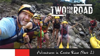 Episode 202: Nik and Dusty continue their adventure through Costa Rica, with a visit to an animal rescue center in Puerto Viejo, followed by an incredibly challenging hike through the primordial rain forest, and a wild rafting trip down the world-famous Pacuare River. (Part 2 of 2)