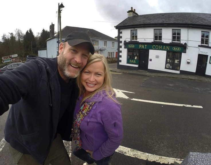 "Onward to the village of Cong, near Galway in western Ireland. Where they filmed ""The Quiet Man"" starring John Wayne and Maureen O'Hara, and home to Pat Cohan's Bar - site of one of the greatest fight scenes in movie history!"