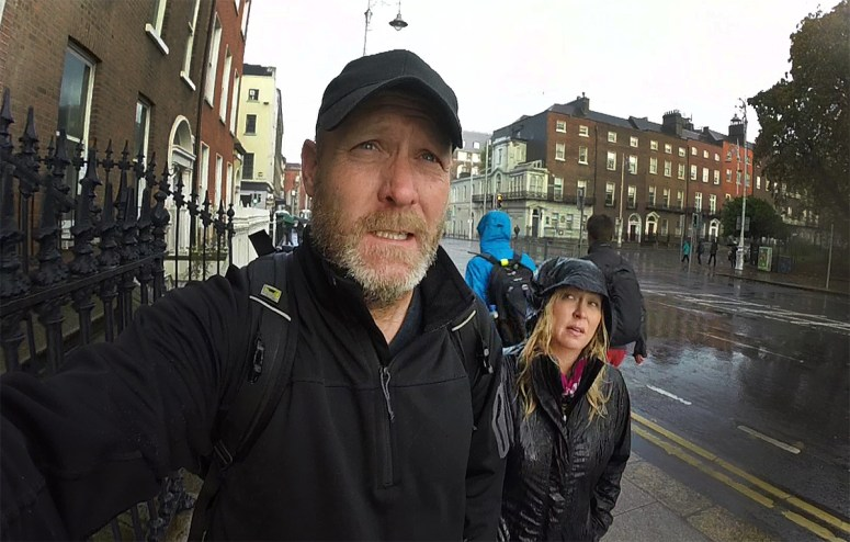 It all started on a cold, rainy, windy blustery day in Dublin, smack in the middle of Storm Brian. Brrrrr!