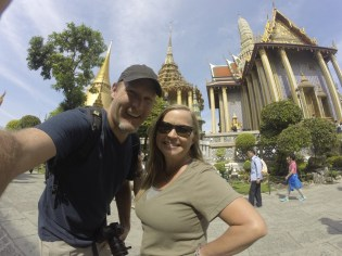 At the Grand Palace. What an incredible place!