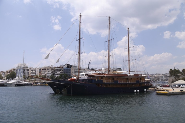 The Galileo in Athens