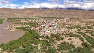 Boquillas from above! The Rio Grande is at left.