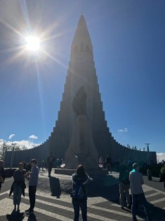 And wound the trip up in Icleand's capital city (and biggest city): Reykjavik! Here's the iconic Hallgrímskirkja Lutheran Church on a beautiful day!