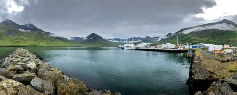 Made a stop for a night in the little fishing village of Siglufjordur. Beautiful little spot!
