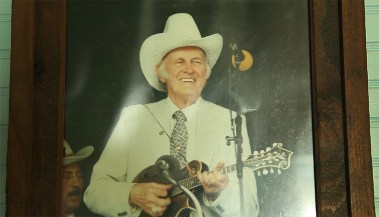 Bill Monroe, the Father of Bluegrass.