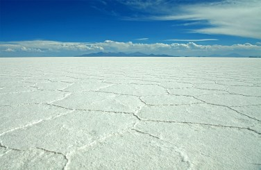 The salar used to be the site of several large prehistoric salty lakes, which eventually dried up leaving this crazy, vast, mind-numbing expanse of pure salt.