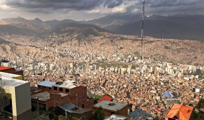 Panoramic View of La Paz