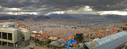 After leaving the salar we made our way to the crazy cool capital city of Bolivia: beautiful La Paz!