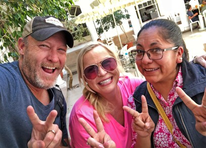 Our AWESOME guide Lourdes, who put up with us for a few days in Sucre and Tarabuco. Thanks so much sweet friend! Muchas gracias por todo!