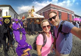 The Two for the Road Podcast Episode 5: On COVID-19, The Future of the Show, and the Spectacular Holy Week Celebration in Guatemala