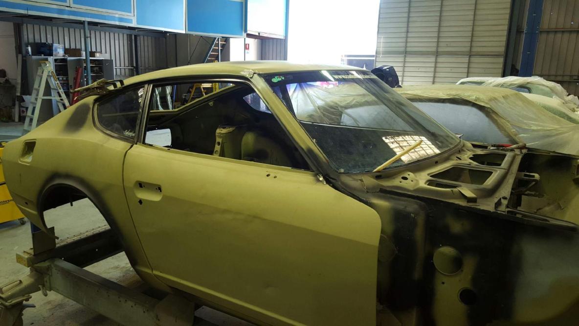 Datsun 240Z Body Restoration