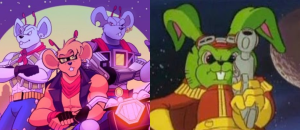 biker mice from mars and bucky o'hare