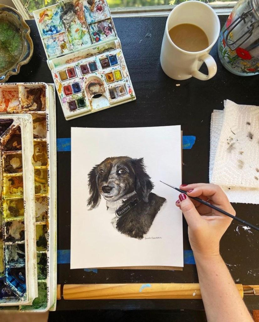 Elk Watercolors