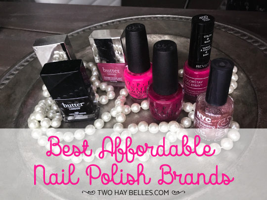 Best Affordable Nail Polish Brands