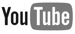 Youtube Logo BW sm