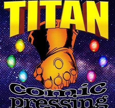 Introducing: Titan Comic Pressing!
