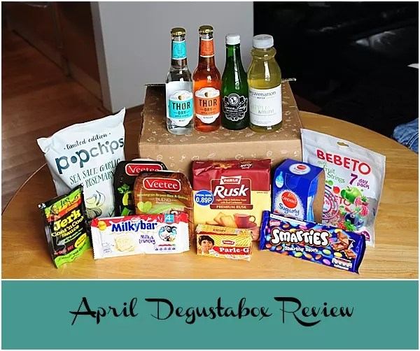 April Degustabox Review