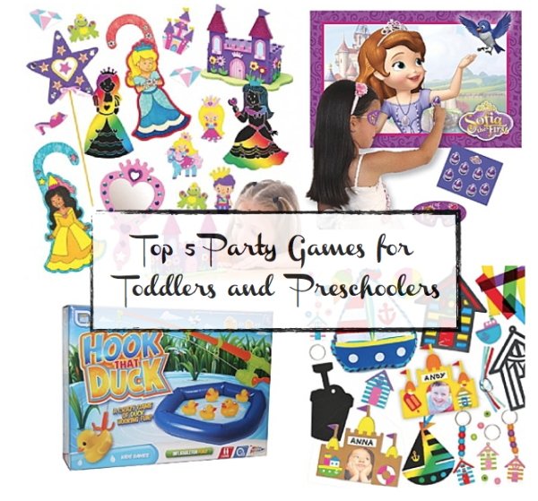 Party Games for Toddlers and preschoolers