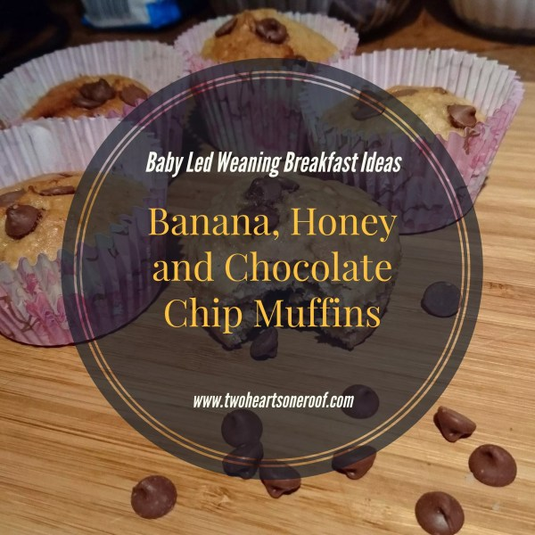 baby led weaning breakfast ideas, banana muffin recipe
