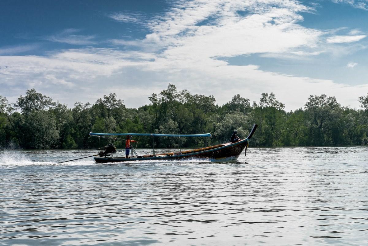 Fiskerbåd Phang Nga