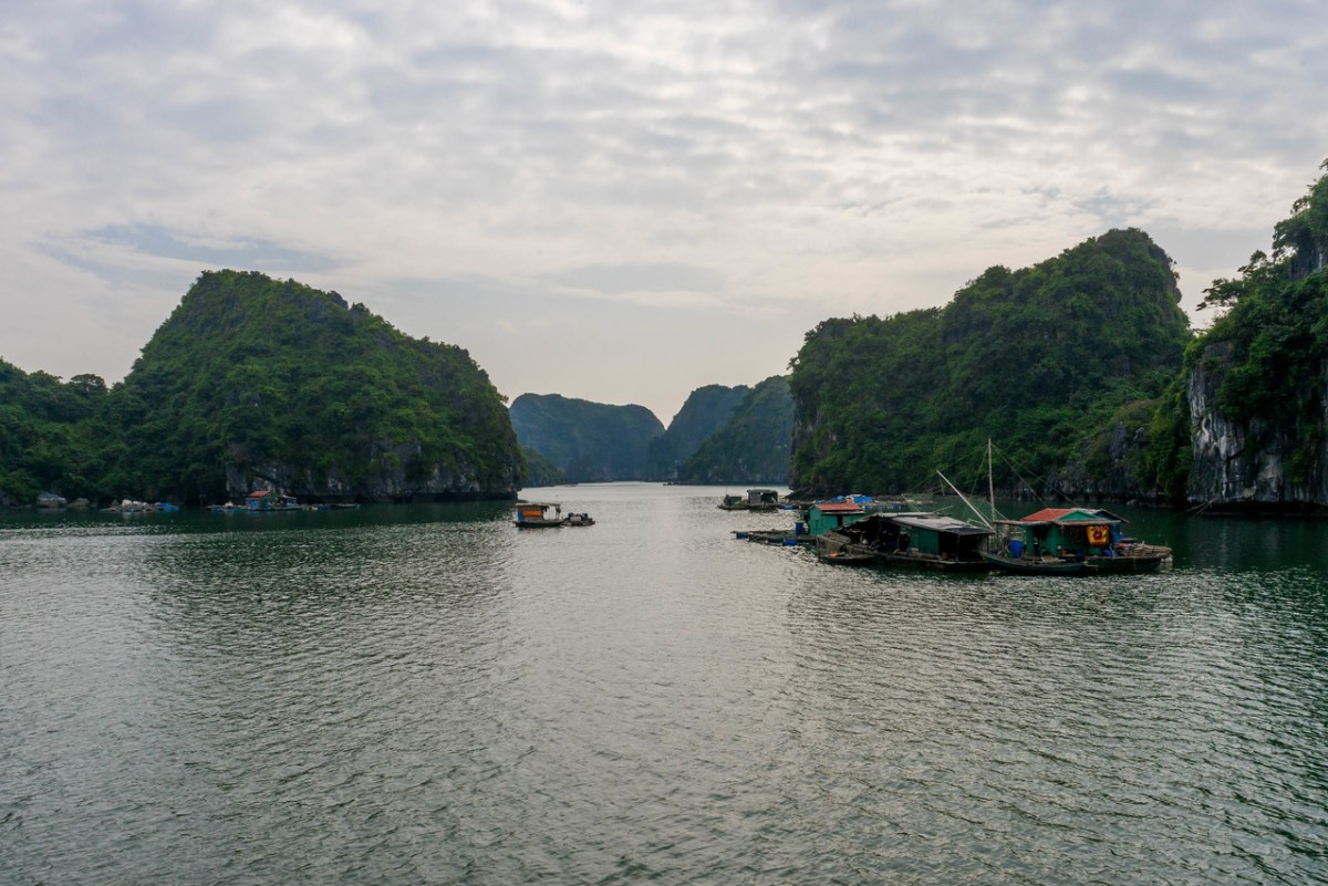 Ha Long Bay smukkeste landskaber